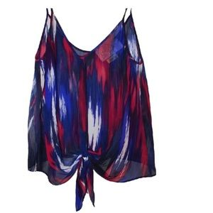 Rory Beca Silk Multi-Colored Blouse